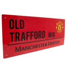 Manchester United FC ( Old Trafford M16 ) Street Sign, 18cm x 40cm