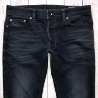 Mens DIESEL Safado Jeans W31 L28 Blue Regular Slim Straight Wash 0858J STRETCH