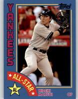 2019 Topps Series 2 1984 All-Star #84AS-HM Blue Parallel HIDEKI MATSUI Yankees