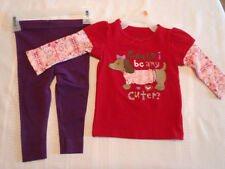 GARANIMALS PANT Faded Glory Shirt 12 Month Outfit NWT