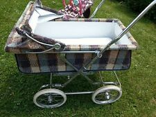 Vintage Rare Baby Pram, Bilt Rite Baby Stroller, Plaid