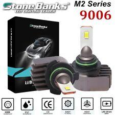 2pcs 9006 HB4 Mini LED Headlight Conversion Bulb 100W 20000LM 6000K Lamp +Canbus