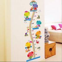 Messlatte Kinderzimmer Wandtattoo Wandsticker Baby  Elefant XXL #165