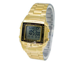 -Casio DB360G-9A Data Bank Watch Brand New & 100% Authentic