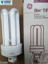 GE 18W 4 pin VERY WARM White 827 18 Watt PL TE BIAX TE Dulux TE Lynx TE
