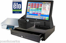 pcAmerica POS SYSTEM RPE PRO ALL-IN-ONE FROZEN YOGURT ELO 15E2 COMPLETE  NEW