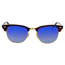 Ray Ban Clubmaster Blue Gradient Flash Sunglasses