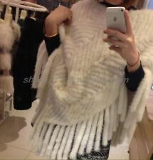 Fur V Neck Casual Waistcoats for Women without Fastening