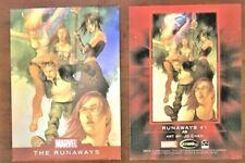 2010 Marvel Foil Card THE RUNAWAYS #1 Art by Jo Chen
