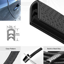 5M Car Anti Collision Door Edge Scratch Protector Strip Steel Sealing Guard Trim