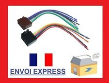 Cable Adaptateur Prise DIN ISO Auto Radio 16 Pin Coutant Haut-Parleur Autoradio