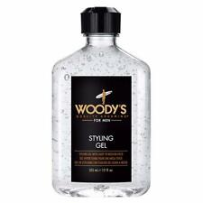 Woody's Hair Styling Gel for Men 12 fl oz / 355ml Light Medium Hold Barber