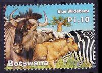 Botswana 2017 MNH, Blue Wildbeest, Wild Animals  - A63