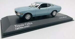 Minichamps 1/43 Toyota Celica 1975 Blue Metallic 400166471