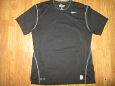 Mens NIKE DIR FIT PRO COMBAT athletic fitted shirt L Lg