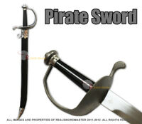 "30"" Pirate Cutlass Sword with Hard Scabbard"