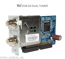 Original VU+ DUAL TWIN 2x DVB-S2 SAT Tuner Solo 4K SE(V2) Ultimo 4K Uno Duo2 NEU