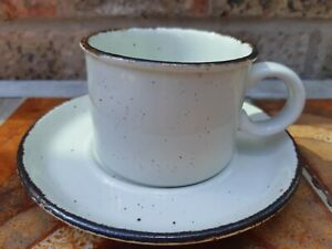 Vintage Midwinter Stonehenge Creation Cup and Saucer