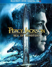 Percy Jackson: Sea of Monsters (Blu-ray/DVD, 2013, 2-Disc Set) Free Shipping!
