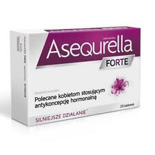 Asequrella FORTE 20 Tablets-osłona przy antykoncepcji -Cover with contraception