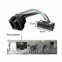 AutoRadio Connecteur Faisceau Cable ISO SONY 16 PIN CDX-F CDX-GT CDX-L CDX-M