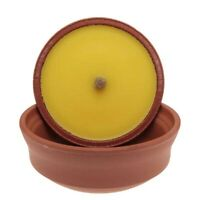 Prices Citronella Fragranced Candle in Large Terracotta Pot Insect Repellent NEW