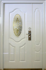 Wohnungstür,Haustür,Sicherheitstür,Stahltür,Türen,Innen Rechts 1300x2050mm,Weiß