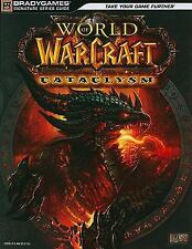 Blizzard World of Warcraft Cataclysm Game Brady Games Signature Strategy Guide