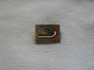 NOC Mexico Olympic Committee for Olympic Games Moscow 1980 pin
