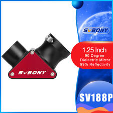 SVBONY SV188P 1.25inch 90 Degree Dielectric Mirror Diagonal  99% Reflectivity