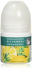 X3 naturalezas mayor secreto silvergel Desodorante-grandes Rollette | 50ml PVP £ 38