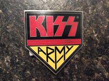 KISS Army Belt Buckle