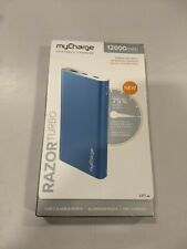myCharge Portable Charger Power Bank 12000mAh -BLUE