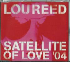 LOU REED  - SATELLITE OF LOVE '04 / (REMIXES) 2004 EU 3 TRACK ENHANCED CD SINGLE