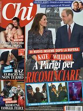 Chi 2017 14.Kate Middleton & William,Keanu Reeves,Elton John,Charlotte Casiraghi