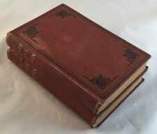 1872 2v Set 2nd American Edition The Descent of Man by Charles Darwin