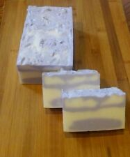 LAVENDER---Cottage Farms Shea Butter Soap Handmade 3 Pound Loaf