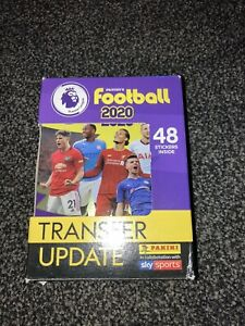 Panini Football Premier League 2020 Transfer Update Stickers 1-48 Complete Tin