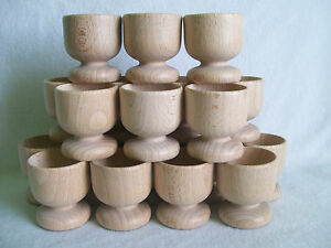 Wooden Egg Cups Easter, Wedding Favours set of 12, 20, 40, 80,100,120,130, 200