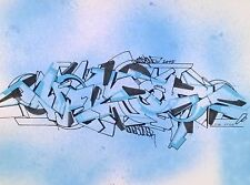 WOODY CIA - Graffiti Sketch daté de 2015 - NO JONONE/SEEN/DAZE/BLADE/MODE2/COPE2