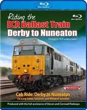 Riding the DCR Ballast Train Derby to Nuneaton *Blu-ray (Cab Ride)