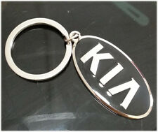 Car Logo Titanium Key Chain keychain Ring Keyfob Metal Keyrings For kia