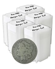 Pre 1921 Silver Morgan Dollar Cull Lot of 100 S$1 Mix Mints & Dates 1878 to 1904