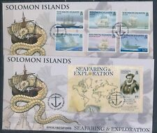 XC25516 Solomon Islands 2009 exploration ships FDC's used