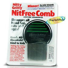 Nitty Gritty NITFREE Comb Nits Removes Head Lice Eggs