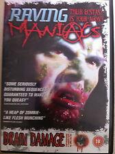 Ryan Patrick Kenny Andrew vellenoweth RAVING MANIACI ~2005 CULT HORROR UK DVD