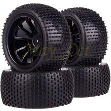 4x1/10 Monster Truck Bigfoot Wheel Rim & Tyre,Tires Fit Redcat HSP Traxxas 88071
