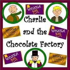 Charlie e la fabbrica di cioccolato-Risorsa Insegnamento su CD-KS1 / KS2-Roald Dahl