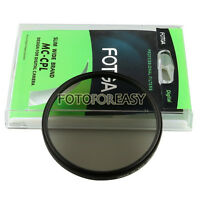FOTGA 55mm PRO Super Slim Multi-Coated MC CPL Circular Polarizing Lens Filter