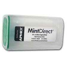 2014 1 oz Silver Eagle SF Mint (20-Coin MintDirect® Tube) - SKU #79028